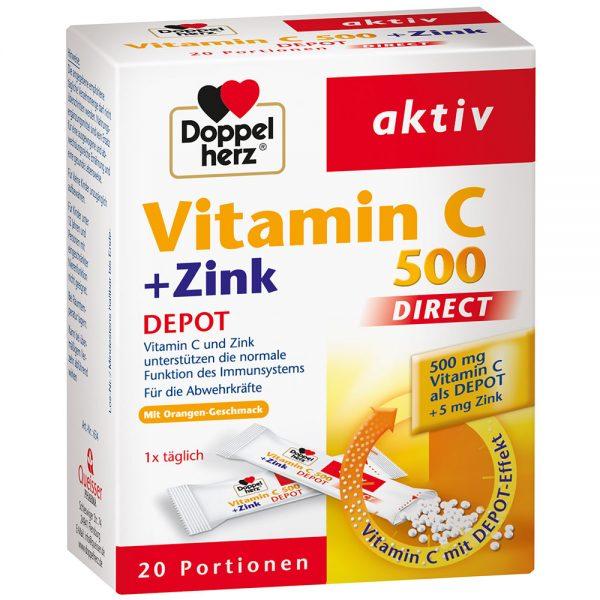 vitamin C 500+ zink