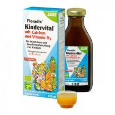 Vitamin tổng hợp Kindervital BIO (CANXI + Vitaimin D + 9 loại Vitamin)
