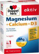 magnesium + calcium + D3