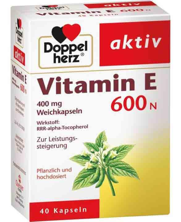 vitamin E 600N